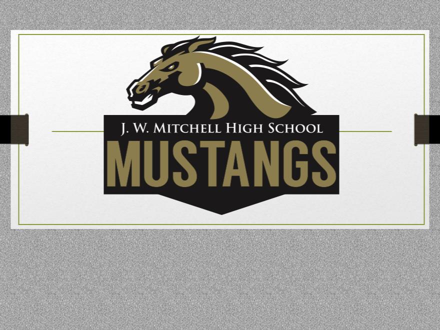 JWMHS Mustangs mascot logo